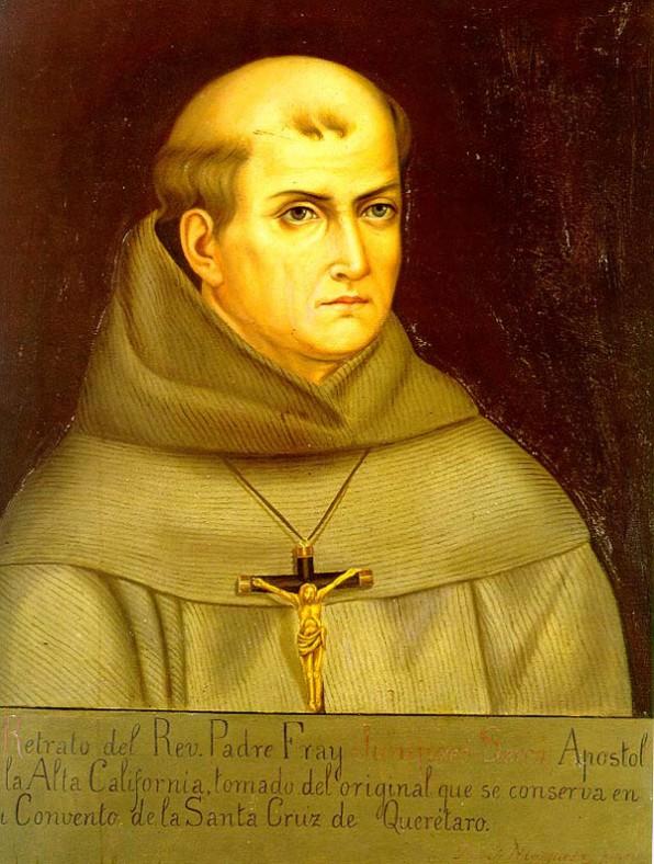 1 Tháng Bảy Chân Phước Junipero Serra (1713-1784)