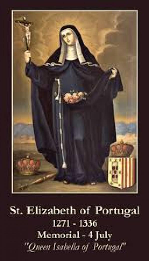 4 Tháng Bảy Thánh Elizabeth ở Bồ Ðào Nha (1271-1336)
