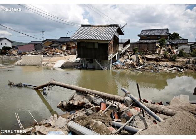 Đức Thánh Cha chia buồn với các nạn nhân bị lụt tại Nhật Bản