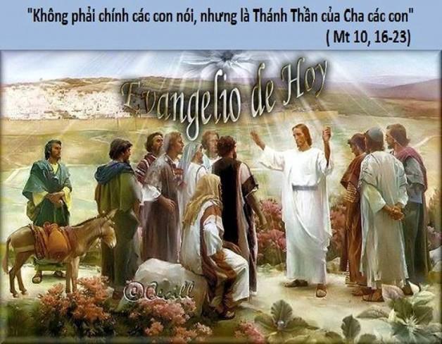 LỜI CHÚA THỨ SÁU TUẦN XIV THƯỜNG NIÊN NĂM CHẴN (13/7/2018) – (Mt 10, 16-23)