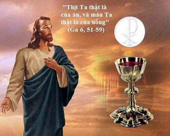 LỜI CHÚA CHÚA NHẬT TUẦN XX THƯỜNG NIÊN NĂM B (19/8/2018) – (Ga 6, 51-59)
