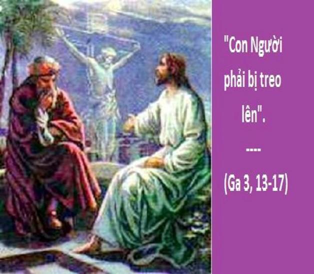 LỜI CHÚA THỨ SÁU TUẦN XXIII THƯỜNG NIÊN NĂM CHẴN (14/9/2018) – (Ga 3, 13-17) LỂ SUY TÔN THÁNH GIÁ – Lễ Kính