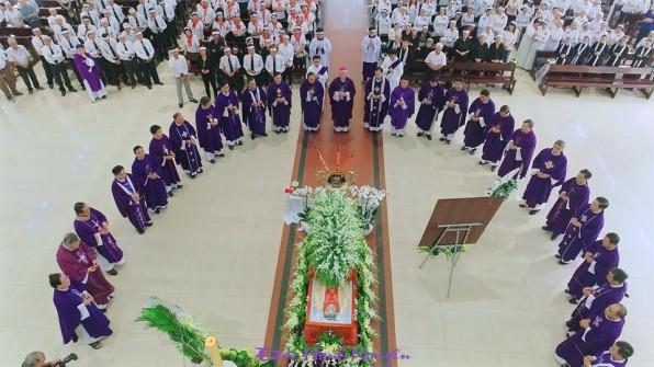 Giáo xứ Tân Phú: Thánh lễ an táng cha cố Giuse Lê Đình Quế Minh