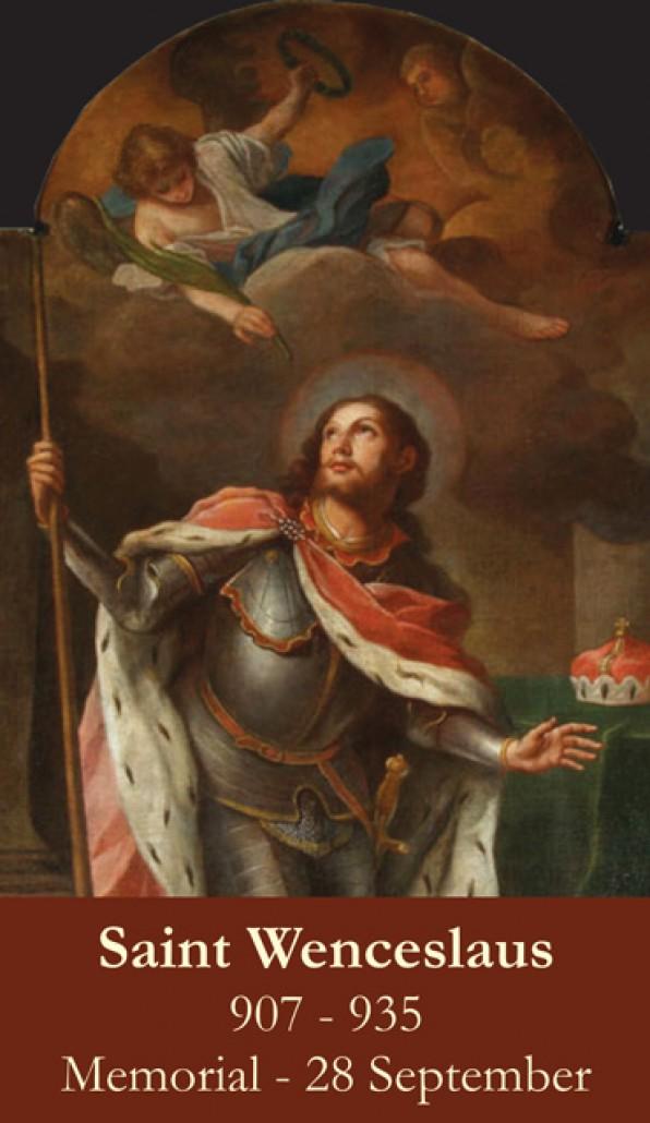 28 Tháng Chín Thánh Wenceslaus (907?-935)
