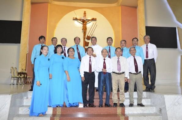Giáo xứ Tân Việt: Mừng bổn mạng giáo họ Môi Khôi