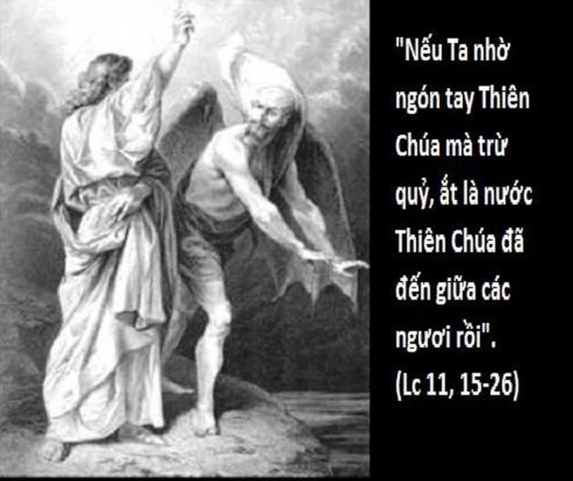 LỜI CHÚA THỨ SÁU TUẦN XXVII THƯỜNG NIÊN NĂM CHẴN (12/10/2018) – (Lc 11, 15 – 26) – THÁNG MÂN CÔI KÍNH ĐỨC MẸ.