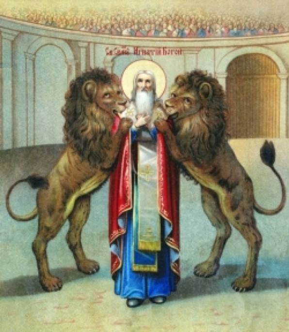 Ngày 17 tháng 10  THÁNH I-NHA-XI-Ô ĂN-TI-Ô-KI-A Giám Mục Tử Đạo
