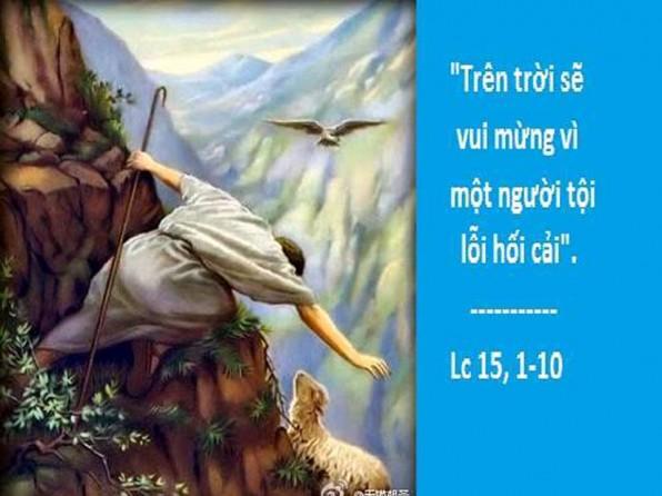 LỜI CHÚA THỨ NĂM TUẦN XXXI THƯỜNG NIÊN NĂM CHẴN (08/11/2018) – (Lc 15, 1-10) – THÁNG CẦU CHO CÁC LINH HỒN