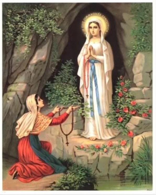 Ba lần hiện ra của Đức Mẹ – Đức Mẹ hiện ra tại Lộ Đức (Trang 2)
