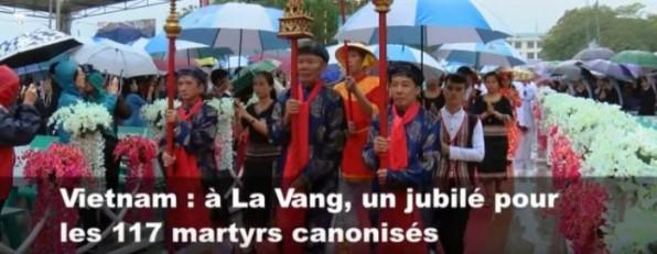 Kỷ niệm 30 năm lễ phong thánh các Thánh Tử đạo Việt Nam