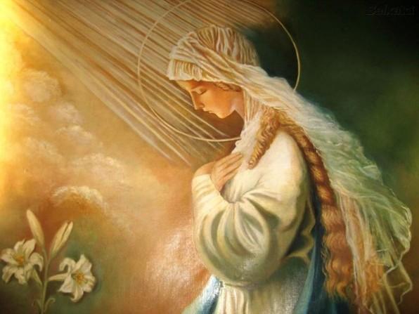 MẸ MARIA ĐẦY ƠN PHƯỚC