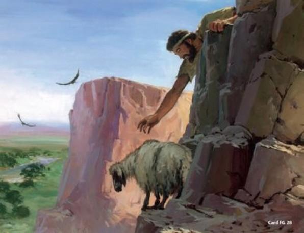 Ai có một trăm con chiên mà có một con đi lạc…