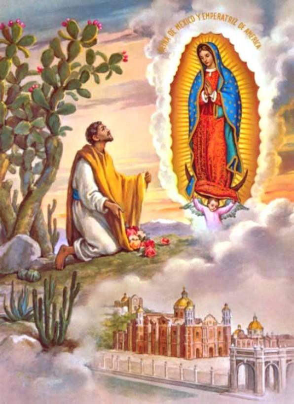 12 tháng 12 Lễ Ðức Mẹ Guadalupe
