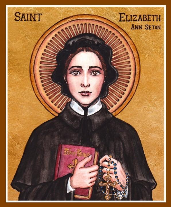 4 Tháng Giêng Thánh Elizabeth Ann Seton (1774 – 1821)