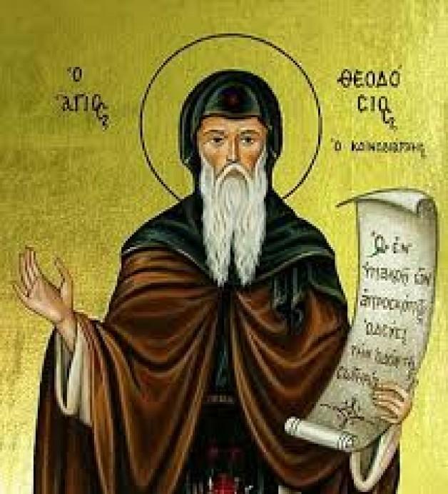 11 Tháng Giêng Thánh Theodosius