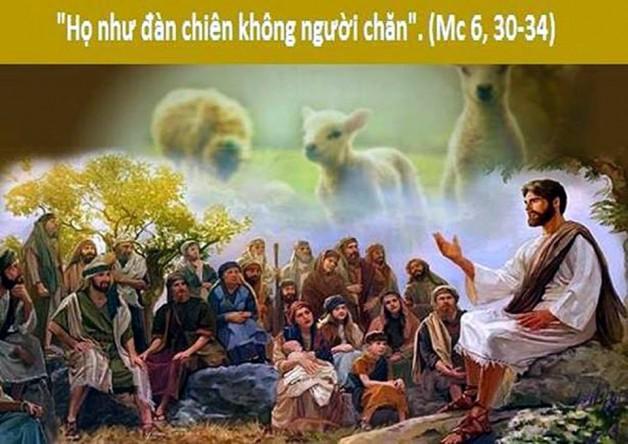 LỜI CHÚA THỨ BẢY TUẦN IV THƯỜNG NIÊN NĂM LẺ (09/02/2019) – (Mc 6, 30-34) – Mùng 5 tết Kỷ Hợi 2019