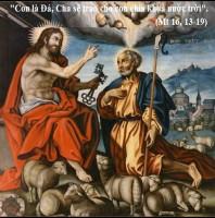 LỜI CHÚA THỨ SÁU TUẦN VI THƯỜNG NIÊN NĂM LẺ (22/02/2019) – (Mt 16, 13-19) LỄ LẬP TÔNG TÒA THÁNH PHÊRÔ – Lễ kính.