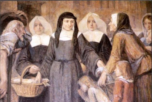 Ngày 15 Tháng 3 Thánh Louise de Marillac (c. 1660)