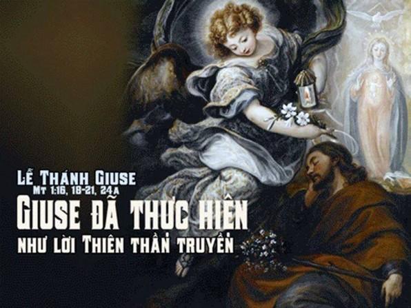 LỜI CHÚA LỄ THÁNH GIUSE, BẠN TRĂM NĂM TRINH NỮ MARIA Lễ trọng (19/3/2019) – (Mt 1, 16. 18-21. 24a).