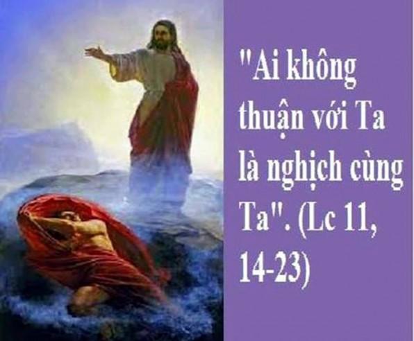 LỜI CHÚA THỨ NĂM TUẦN III MÙA CHAY NĂM LẺ (28/3/2019) – (Lc 11, 14-23) – MÙA CHAY THÁNH 2019