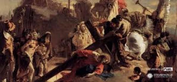[Đường Thập Tự hôm nay] Chặng thứ hai: Chúa Giêsu vác thánh giá