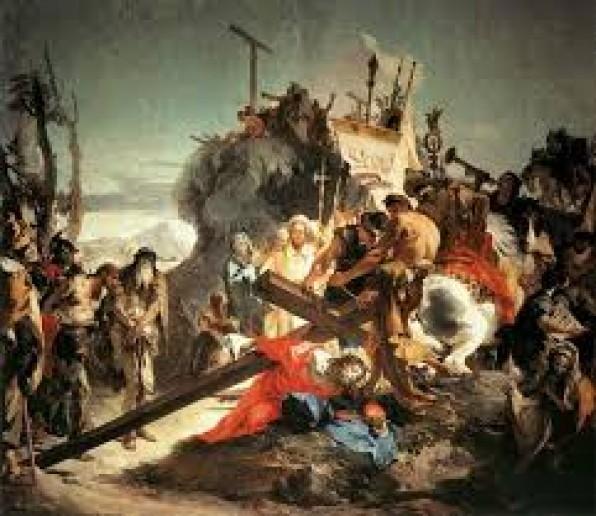 [Đường Thập Tự hôm nay] Chặng thứ ba: Chúa Giê-su ngã xuống đất lần thứ nhất