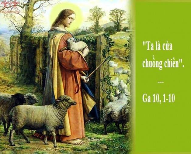 LỜI CHÚA THỨ HAI TUẦN IV PHỤC SINH NĂM LẺ (13/5/2019) – (Ga 10, 1-10) – THÁNG HOA KÍNH ĐỨC MẸ.