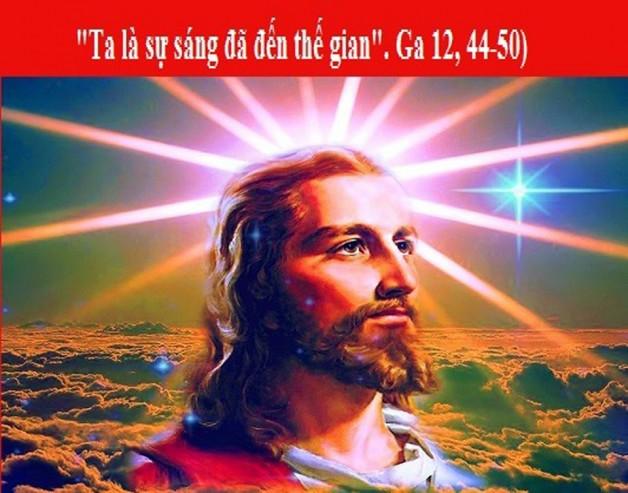 LỜI CHÚA THỨ TƯ TUẦN IV PHỤC SINH NĂM LẺ (15/5/2019) – (Ga 12, 44-50) – THÁNG HOA KÍNH ĐỨC MẸ.
