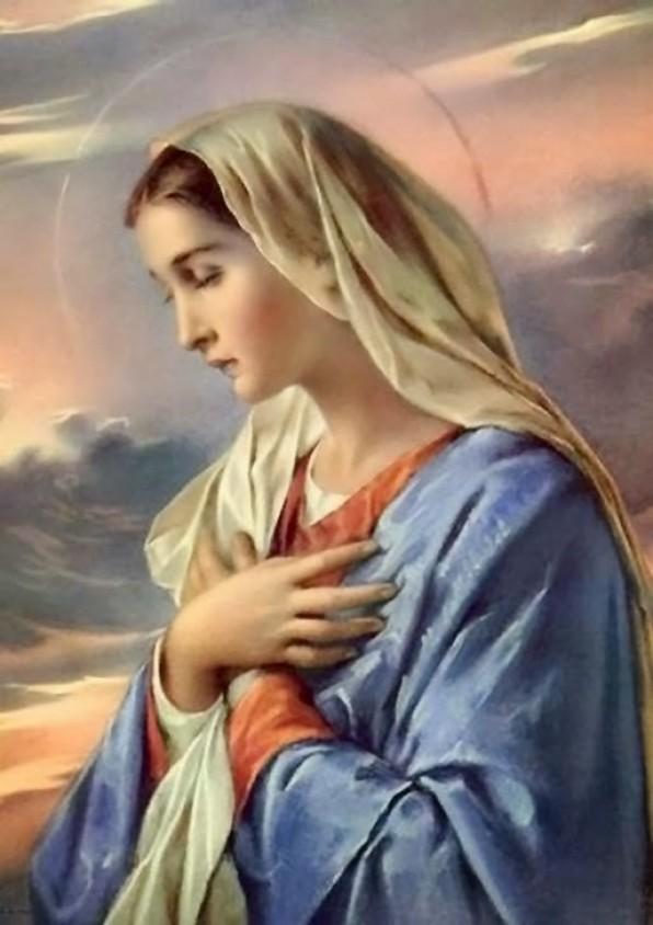 ĐỨC MẸ MARIA CẦU NGUYỆN (TRONG TIN MỪNG LUCA)