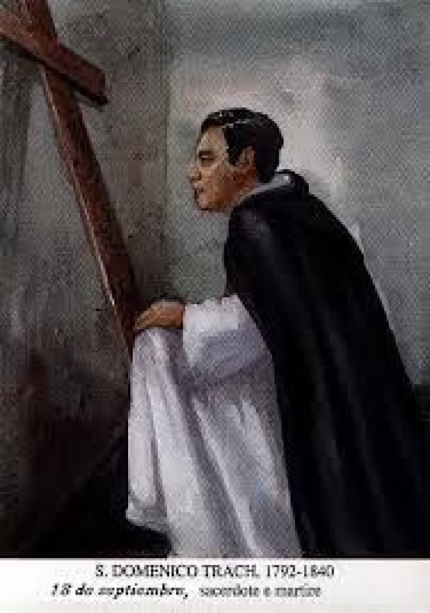 Ngày 18 tháng 09 THÁNH ĐA-MINH TRẠCH Linh Mục Tử Đạo