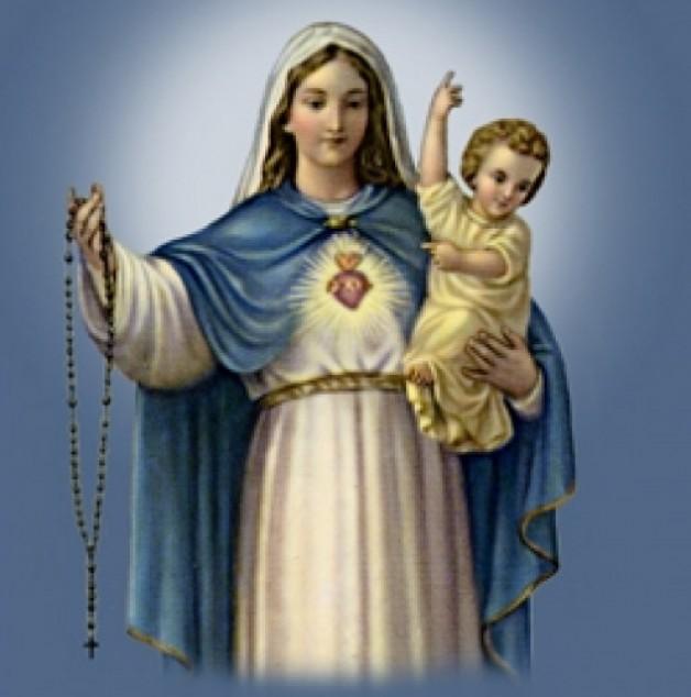 CHIÊM NGẮM CHÚA KITÔ VÀ ĐỨC MARIA NHÂN LỄ ĐỨC MẸ MÂN CÔI