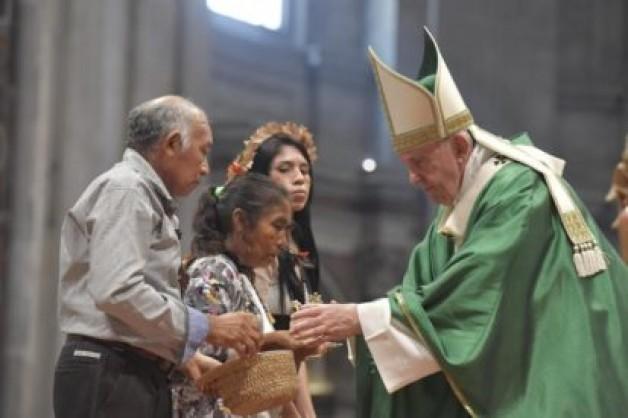 Thánh lễ khai mạc Thượng Hội đồng Giám mục về Amazon