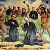 Ngày 19 tháng 10 THÁNH GIOAN BƠ-RÊ-BỐP, I-SA-ÁC GIO-GƠ và các bạn Tử Đạo