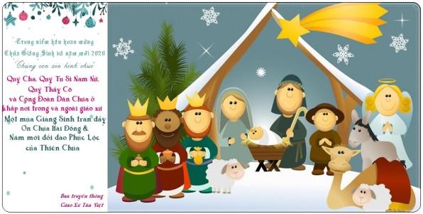 Hân hoan Mừng Chúa Giáng Sinh và Năm Mới 2020