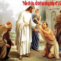 LỜI CHÚA CHÚA NHẬT IV MÙA CHAY NĂM A 2020 (22/3/2020) – (Ga 9, 1-4) – THÁNG KÍNH THÁNH GIUSE CHÚA NHẬT MÀU HỒNG
