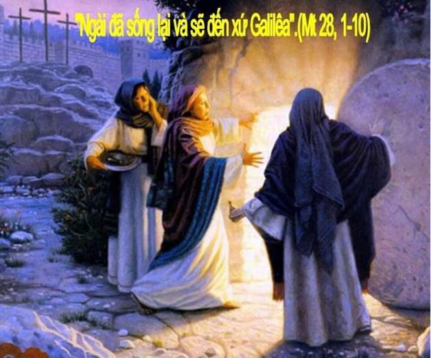 LỜI CHÚA THỨ BẢY TUẦN THÁNH NĂM A 2020 (11/4/2020) – (Mt 28, 1 – 10) – TAM NHẬT VƯỢT QUA 2020 THÁNH LỄ VỌNG PHỤC SINH.