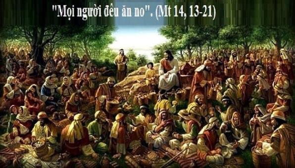 Suy niệm Tin mừng: Chúa nhật 18 Thường niên năm A (Mt 14:13-21) – ĐTGM Giuse Nguyễn Năng