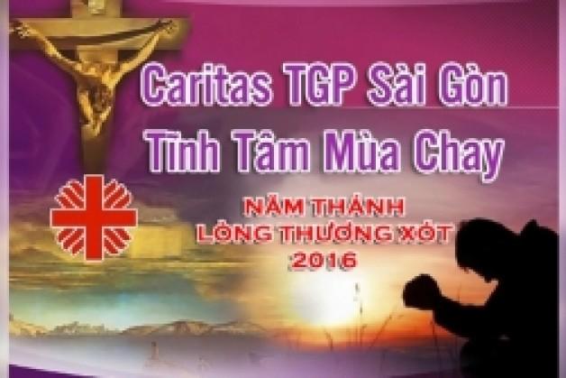 Chương trình Tĩnh tâm Mùa Chay 2016 của Caritas TGPSG