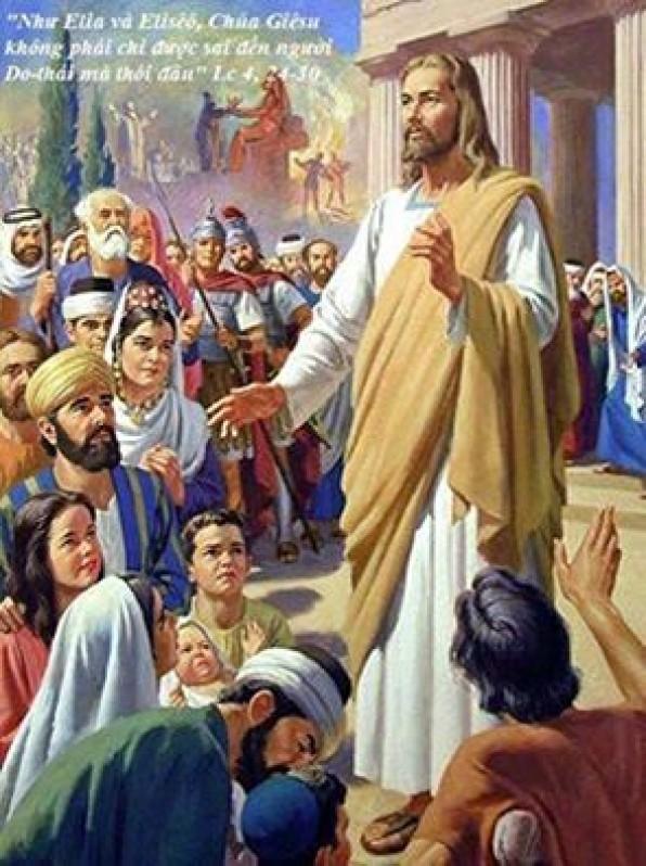 Lời Chúa thứ hai tuần III mùa Chay năm chẵn (29/02/2016) – (Lc 4, 24-30) – MÙA CHAY THÁNH 2016