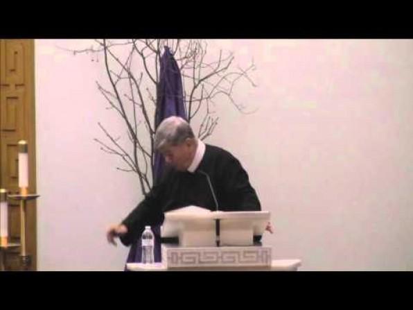Bài Giảng Tĩnh Tâm Mùa Chay của Cha Giuse Nguyễn Tiến Lộc, DCCT