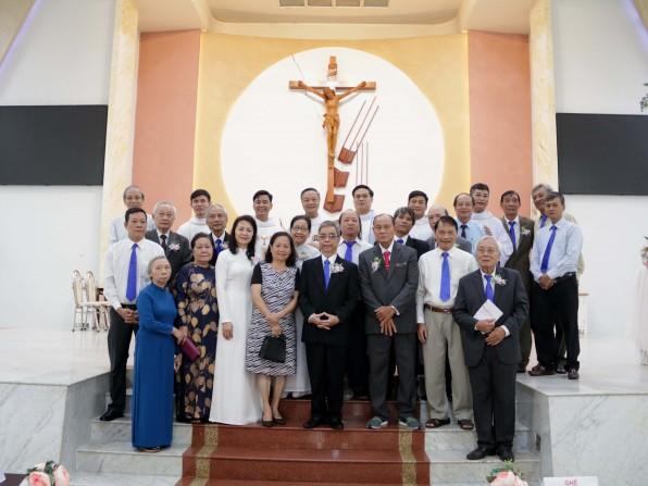 Giáo xứ Tân Việt Đồng hương Cổ Việt mừng bổn mạng