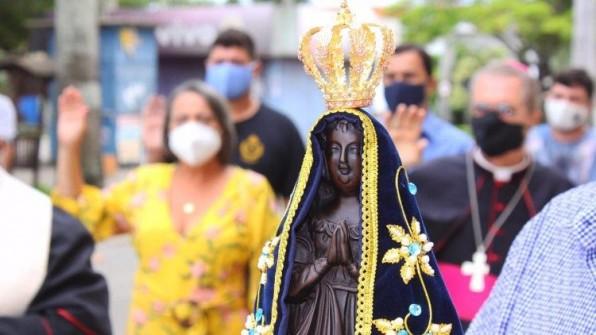 Lễ Đức Mẹ Aparecida lần đầu tiên không có người tham dự
