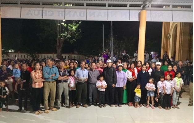 Caritas TGP Sài Gòn: Kết thúc hành trình thương về miền Trung