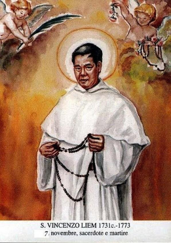 St. VINCENTE PHẠM HIẾU LIÊM, Linh mục – Tử đạo – OP (1732 – 1773)