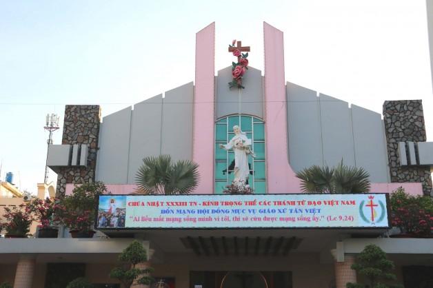 Giáo xứ Tân Việt Hội Đồng Mục Vụ mừng bổn mạng