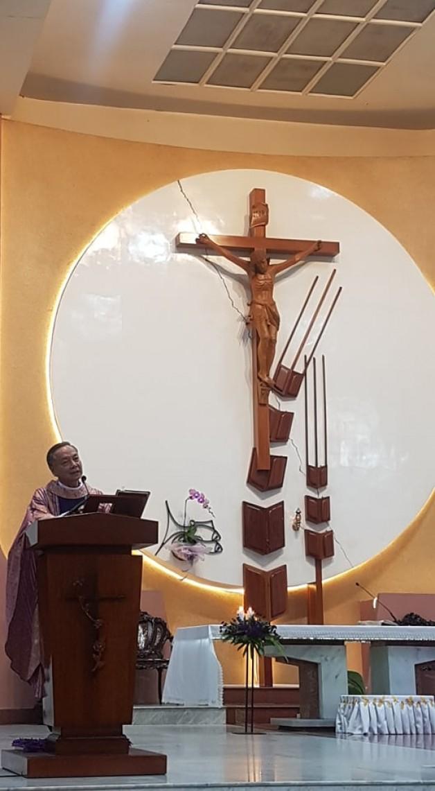 Bài Giảng Chúa Nhật thứ V mùa chay 2021 do Cha Chánh xứ Đaminh Vũ Ngọc Thủ Giảng Lễ