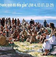 LỜI CHÚA THỨ HAI SAU LỄ HIỂN LINH 2021 (04/01/2021) – (Mt 4, 12-17. 23-25)