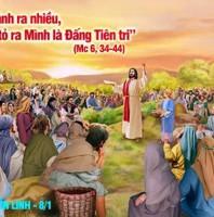 LỜI CHÚA THỨ BA SAU LỄ HIỄN LINH 2021 (05/01/2021) – (Mc 6, 34-44) – PHÉP LẠ HÓA BÁNH RA NHIỀU LẦN THỨ I