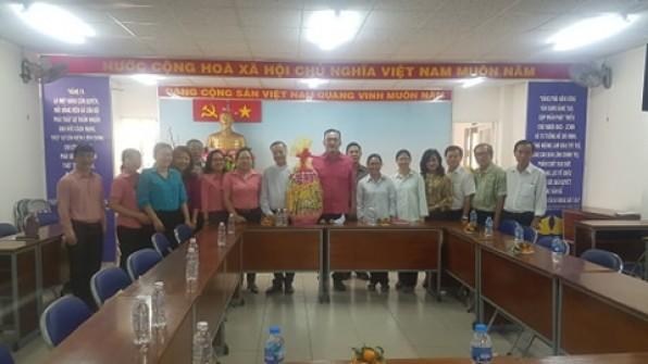 Thăm và chúc Tết Chính quyền nhân dịp Xuân Tân Sửu 2021