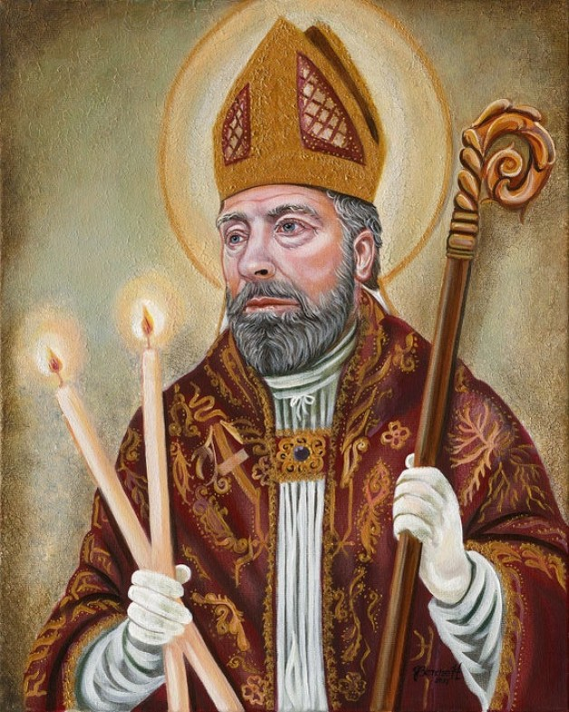 Ngày 3 tháng 2  THÁNH BLA-SI-Ô . Giám mục tử đạo